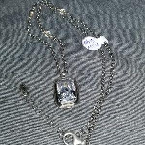 Silpada N1859 CZ necklace